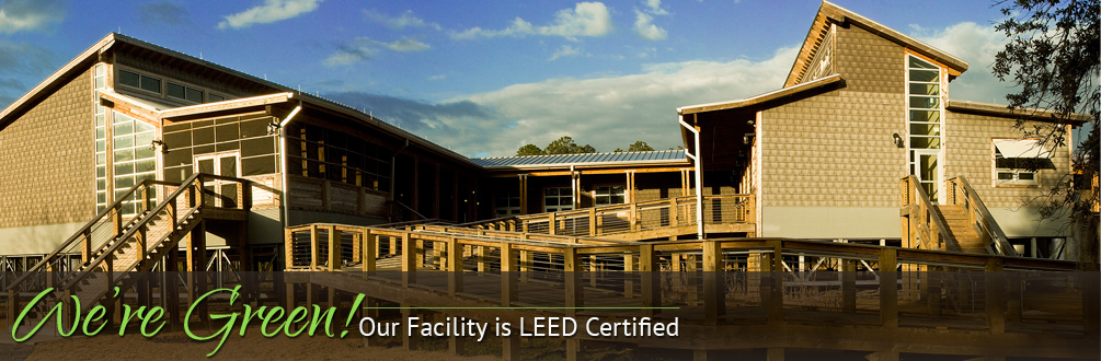 Our Facility is LEED Certified